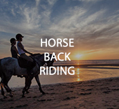 Activities Horse Back Riding at Hotel Tugu Bali