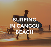 Activities Surfing in Canggu at Hotel Tugu Bali