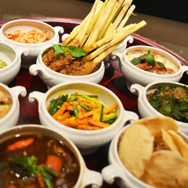 Babah Peranakan Dinner at Hotel Tugu Bali