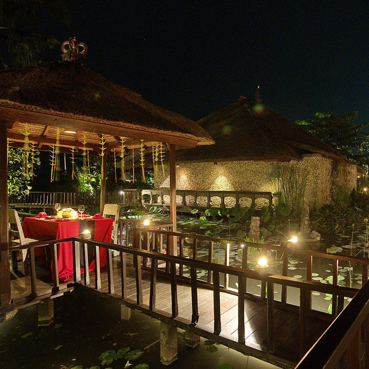 Romantic Dinner at Hotel Tugu Bali