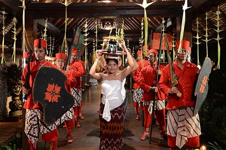Royal Tugudom Dining Experience at Hotel Tugu Bali