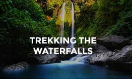 Trekking the Waterfalls Hotel Tugu Lombok