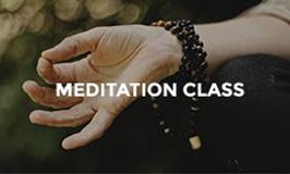 Meditation Class at Hotel Tugu Lombok
