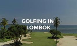 Hotel Tugu Lombok - Golfing by the sea