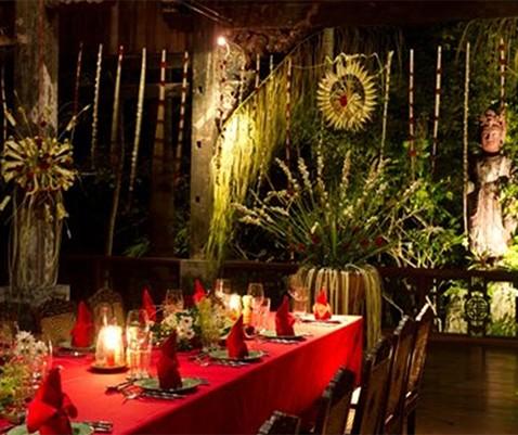Romantic Dinner at Hotel Tugu Lombok
