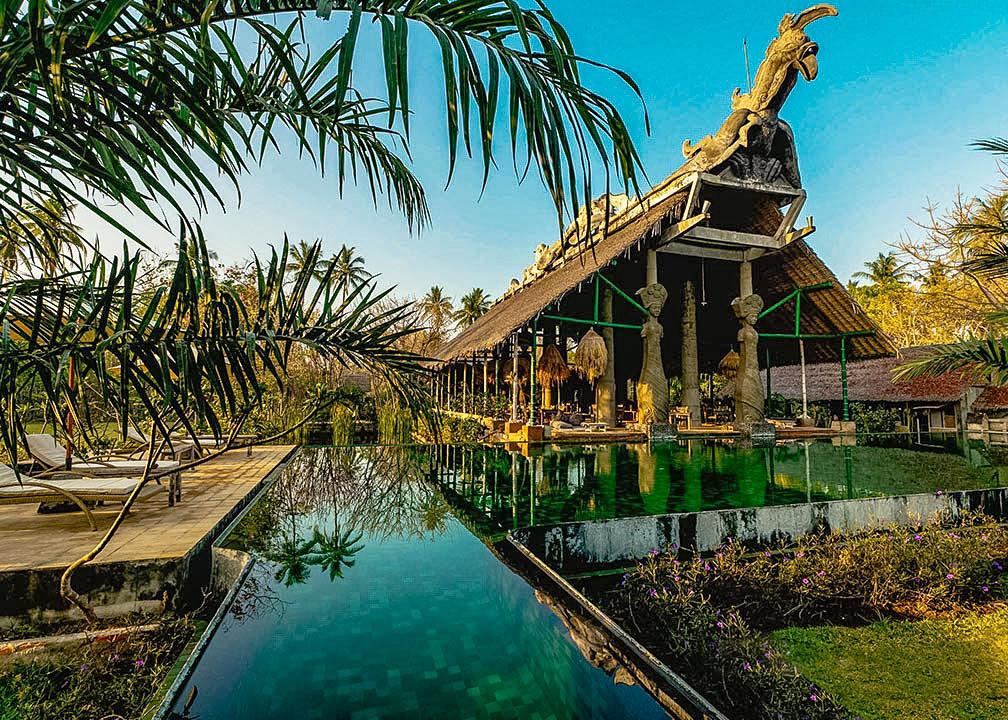 Bale Kokok Pletok at Hotel Tugu Lombok